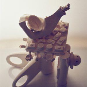 Bio Machines Ceramics Sculptures